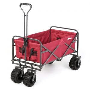 Sekey Folding Wagon Collapsible Outdoor Wagon
