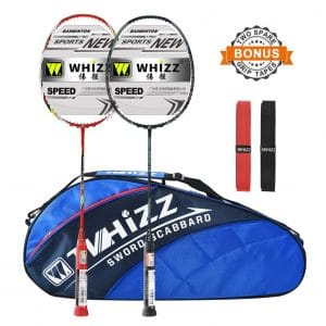 Beach Swanluck 3 in 1 Outdoor Portable Badminton Set with Freestanding Base Easy Setup Nylon Sports Net with Poles for Indoor or Outdoor Court