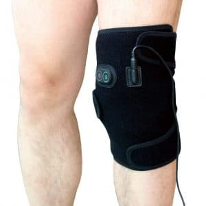 sticro Heating Knee Pad with 3 Vibration and Temperature Settings