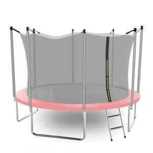 AOTOB 14 FT Trampoline for Kids with Safety Enclosure Net