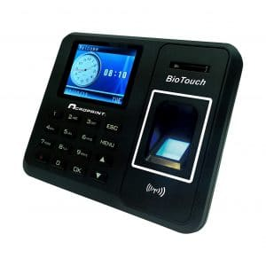 Acroprint BioTouch Automatic Biometric Fingerprint Time Clock
