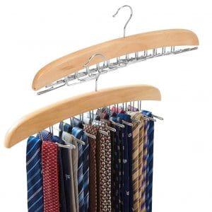 EZOWare 2-Pack Tie Hangers
