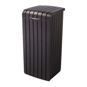 Keter Copenhagen Outdoor Trash Can