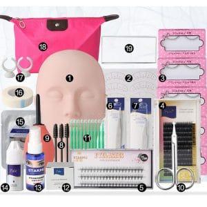 OULVNUO Eyelash Extension Kit