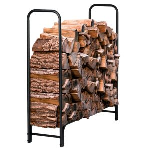 Syntrific Fireplace Log Rack