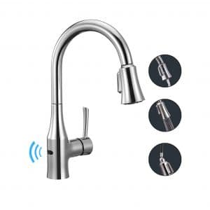 ANZA Touchless Wave Sensor Kitchen Sink Faucet