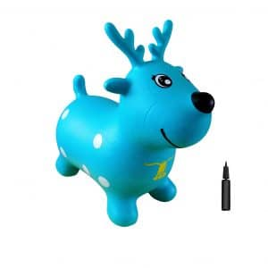 AppleRound Reindeer Bouncer Inflatable Hopper