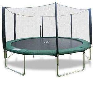 Best Trampoline USA Round Trampoline with a Safety Enclosure Net