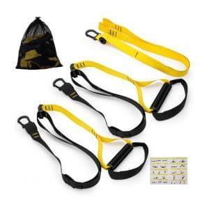 HYMNL Bodyweight Professional Gym Resistance Straps Kit