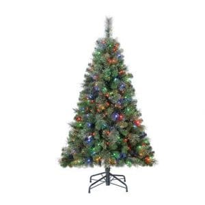 Home Heritage 5-feet Artificial Christmas Tree
