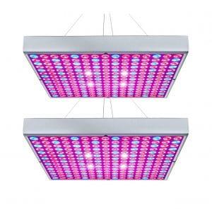 Hytekgro LED Grow Light 45W, 2Pack