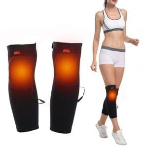 Junda 2PCS Heated Knee Pad for Joint Pain