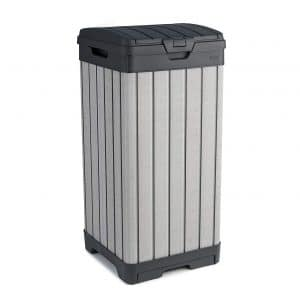 Keter Rockford Outdoor Trash Can