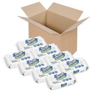 SCOTT Flushable Wipes