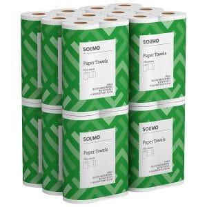 Solimo Basic Flex Sheet Paper Towels