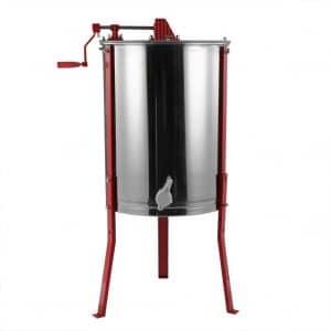 Tek Widget 4 Frame Stainless Steel Manual Honey Extractor