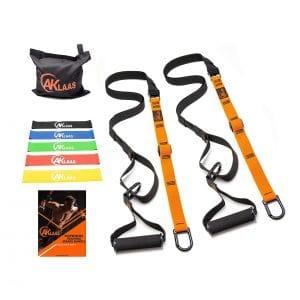 AKLAAS Resistance Trainer Bodyweight Straps Bundle