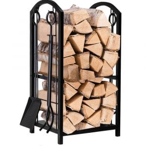 AMAGABELI GARDEN & HOME Firewood Log Rack