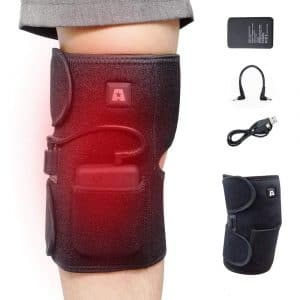 ARRISHOBBY Heated Knee Brace with a Rechargeable 2600Mah Battery