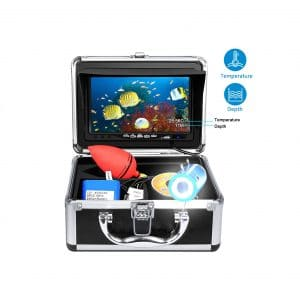 Aukfa Portable Underwater 7 Inches LCD 15M Cable Camera