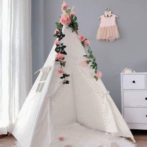Avrsol Lace Teepee Tent for Kids