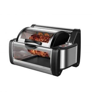 Flexzion Rotisserie Toaster Oven