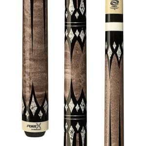 Purex HXT-65 Pool Cue with Antique Birds-Eye Maple