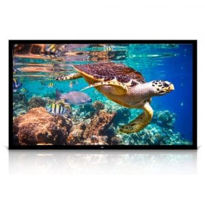 Pyle 120 inches Portable Projector Screen for Indoor and Outdoor Use