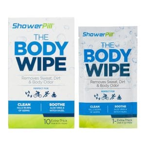 ShowerPill Adult Wet Wipes