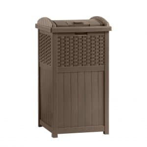 Suncast Outdoor Trash Can