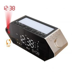 Tongjiatai Projection Bluetooth Alarm Clocks
