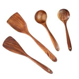 Ubae Wooden Kitchen Utensil Set