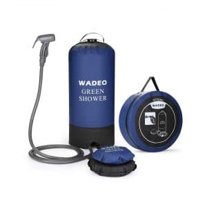 WADEO 5-Gallons Camp Shower Bag