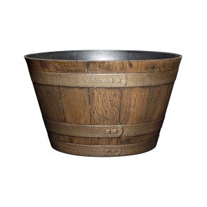Classic Home and Garden Barrel Planter