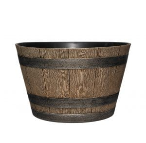 Classic Home and Garden Barrel Planter