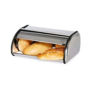 ENLOY Stainless Steel Roll Top Bread Box