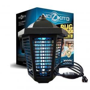 Nozkito Bug Zapper Lantern UV Lamp