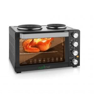 NutriChef 30 Quartz 1400W Countertop Roaster Cooker with Grill