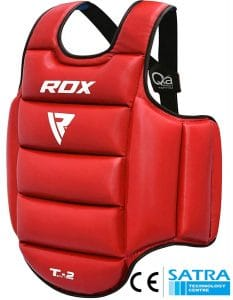 RDX TKD Chest Guard Martial Arts Boxing MMA Body Protector