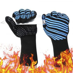 Semboh 932℉ Extreme Heat Resistant BBQ Gloves
