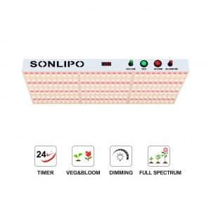 Sonlipo Newest LED Grow 2000W Full Spectrum Grow LED Light
