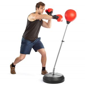Tech Tools Boxing Ball Set with adjustable stand