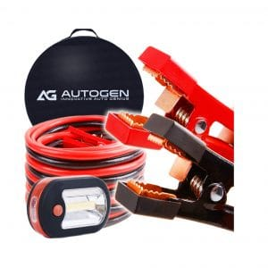 AUTOGEN Jumper Cables -100% Copper Jaws