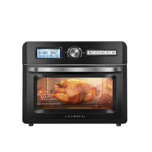 CROWNFUL 19 QUARTZ Air Fryer Toaster Oven