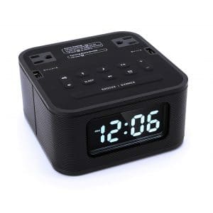 Homtime Radio Bluetooth Alarm Clock