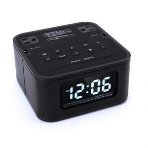 Homtime Radio Bluetooth Alarm Clock