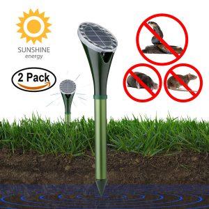 KINGMAZI Solar Powered Mole Repellent