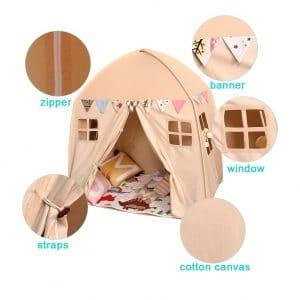 Love Tree TeePee Tent for Kids