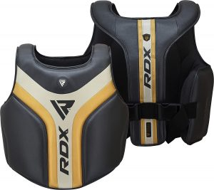 RDX Black:Yellow GelTech Body and Trainers Protective Vest