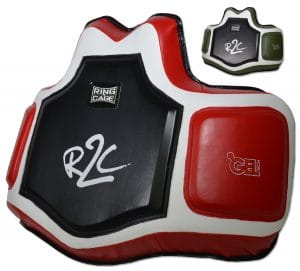 Ring to Cage Ultima Black/Red GelTech Body and Trainers Protective Vest